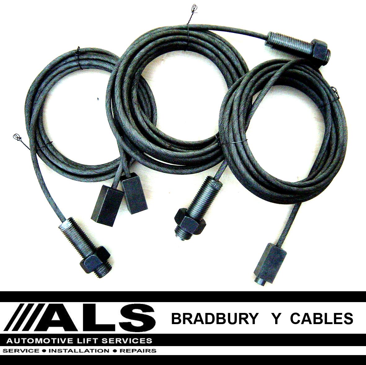 Bradbury Car Lift Parts