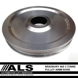 Bradbury 40 Series single pulley - 40mm