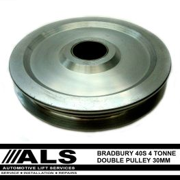 Bradbury 40 Series Double Pulley - 30mm