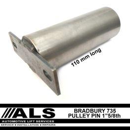 Bradbury 110mm pin 1 inch and 5/8ths