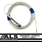 Bradbury/Stenhoj Safety Cable