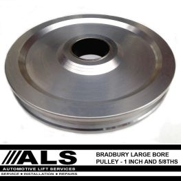 Bradbury large bore pulley