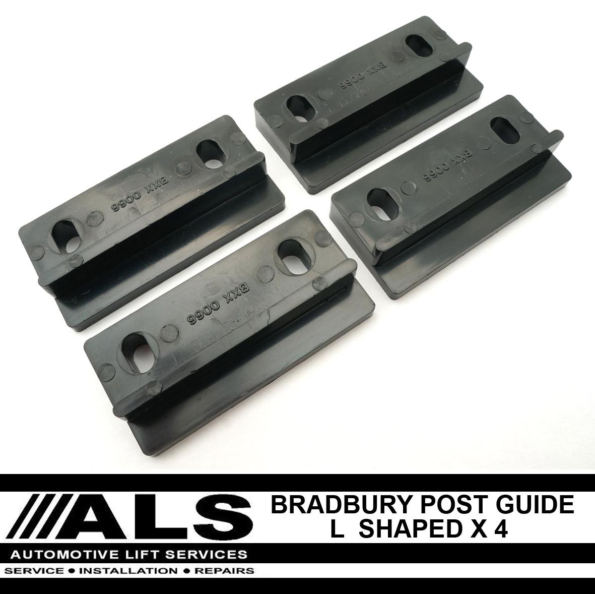 4 x Bradbury 40 Series Guide Blocks - L Shaped