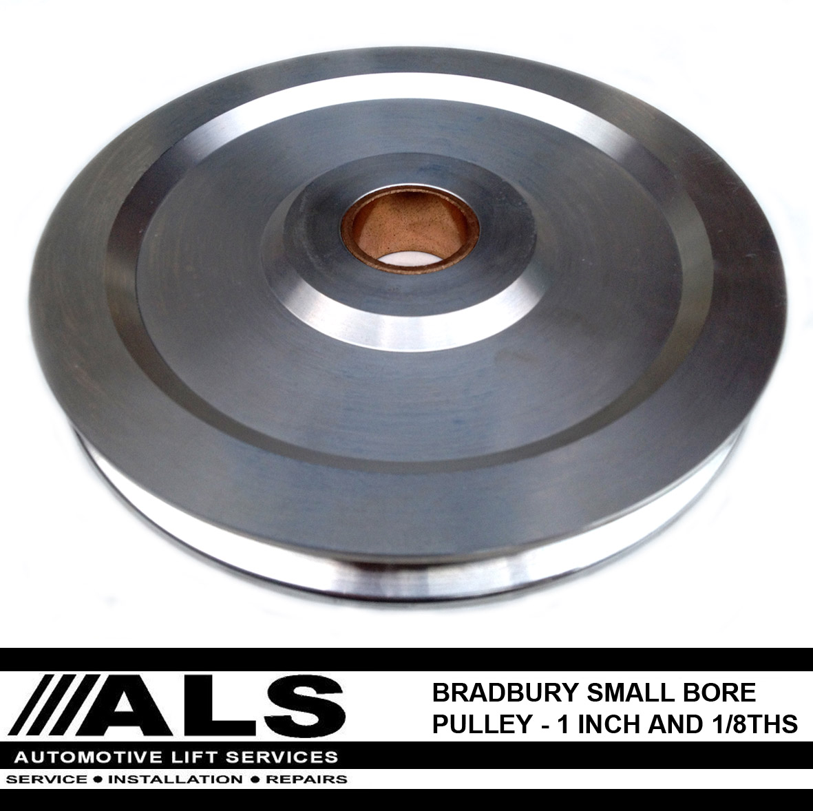 Bradbury 735  W  Small Bore Pulley 1 Inch 1  8th