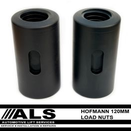 2 x Hofman Europa 120mm Load Nuts