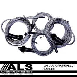 Laycock Highspeed GPO Four Post Lift Cables
