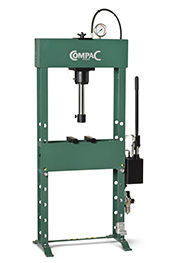 Compac Hydraulic Press HP 20 with foot operated air approach