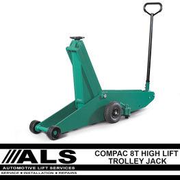 Compac High Lift Trolley Jack - 8 Tonne